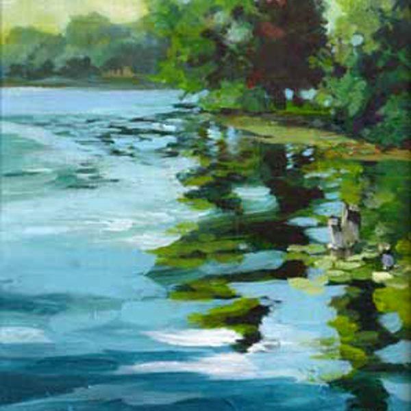 Morning at Fowler Lake