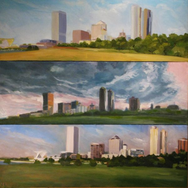Sandwich Cityscape Triptych