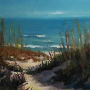 Beach Before Evening