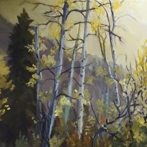 Wasatch Mountain Aspens