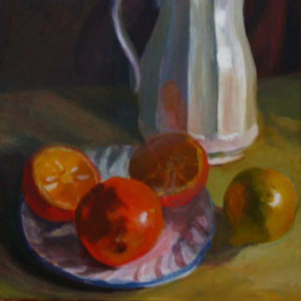 Still Life with White Carafe