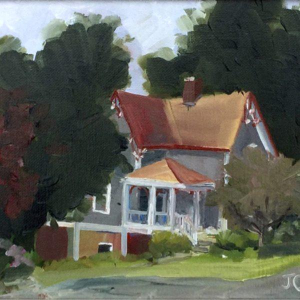 Corner Porch