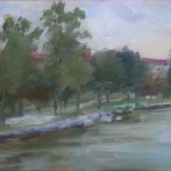 Lagoon Along the River